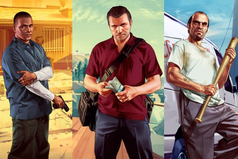 characters-Michael De Santa, Franklin Clinton and Trevor Philips