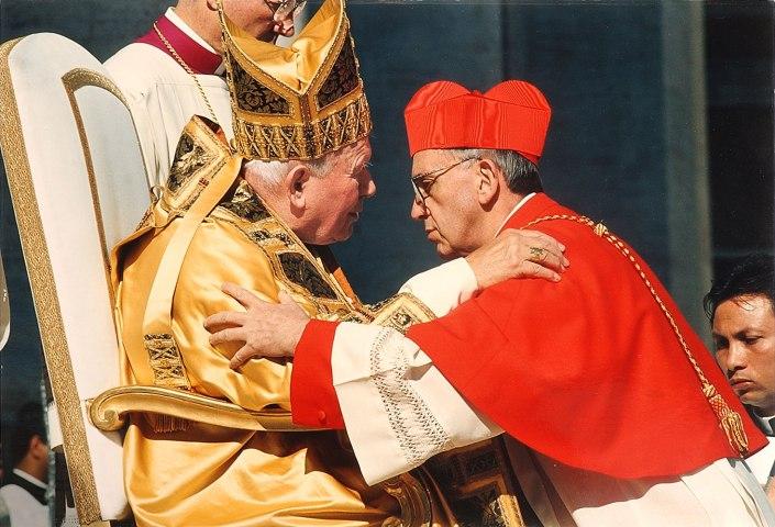 Jorge Mario Bergoglio, Pope John Paul II